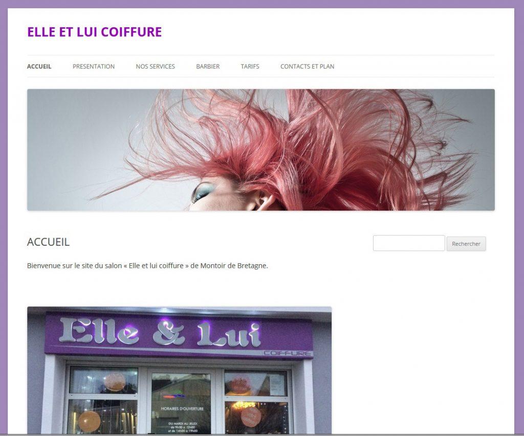 logo site elle et lui coiffure